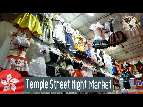 Temple Street Nigth Market. Hong Kong 2015