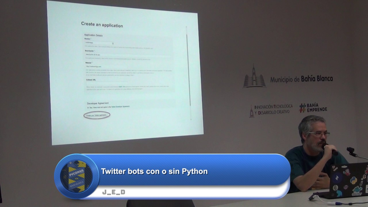 Image from Twitter bots con o sin Python