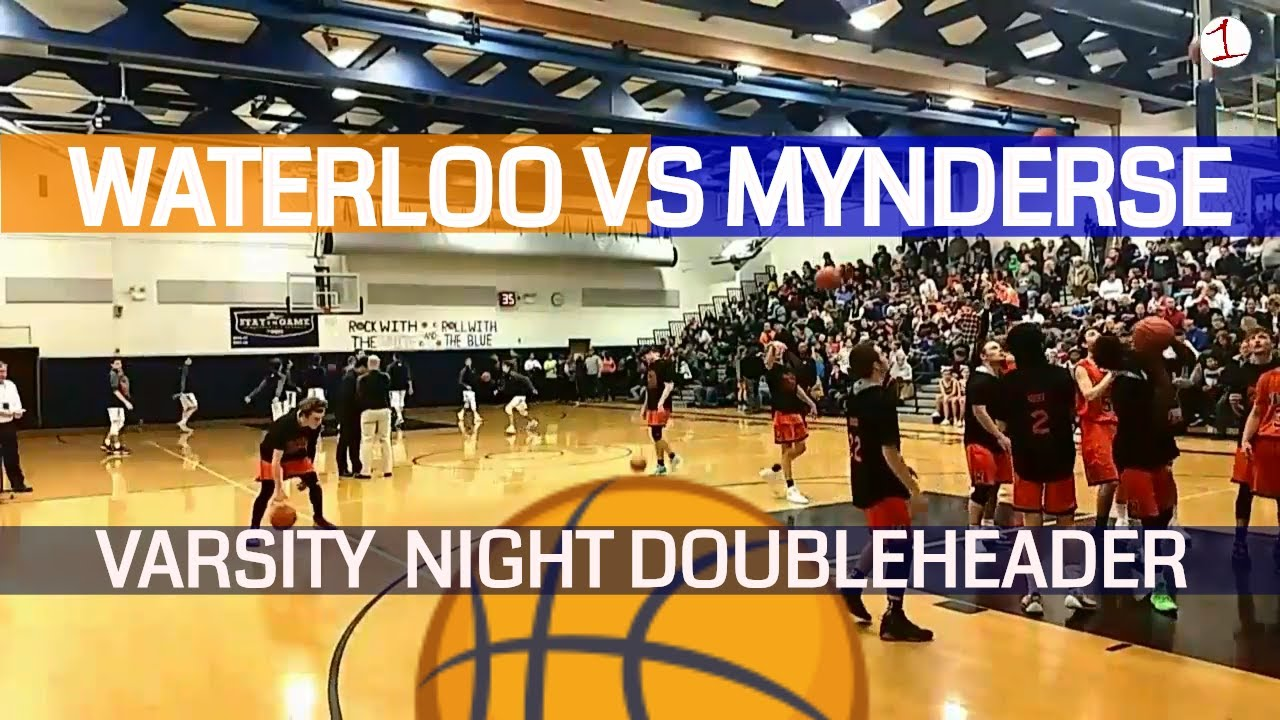 Waterloo Indians vs. Mynderse Blue Devils .::. Varsity Night Doubleheader on FL1 Sports 2/1/19