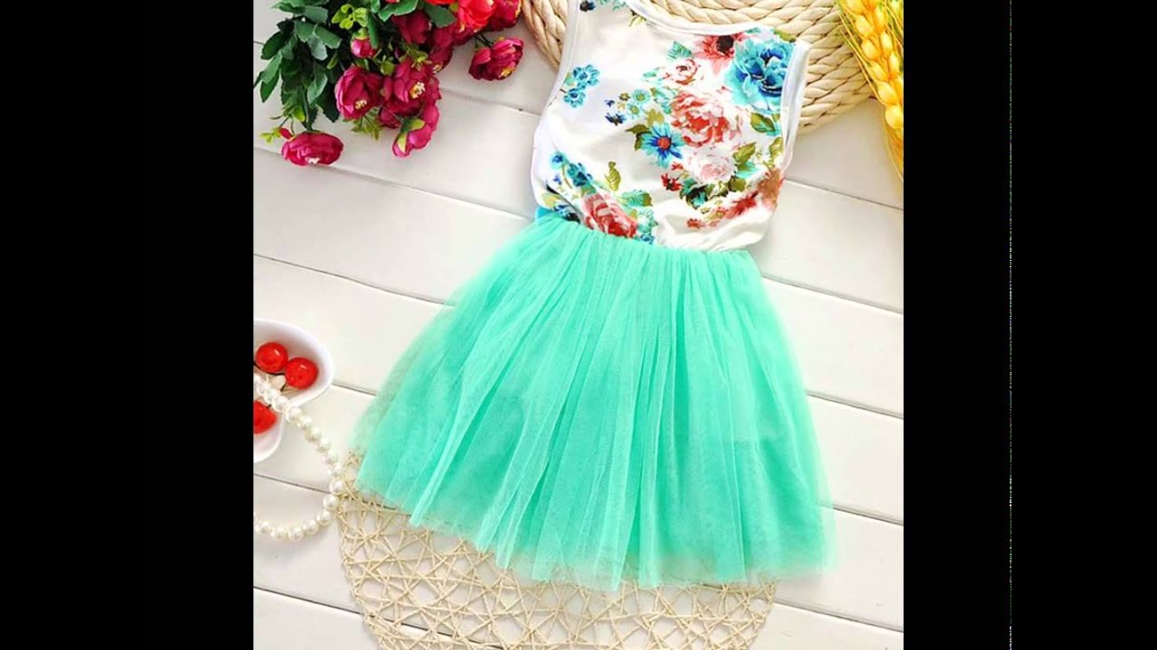 BuyInCoins: Hot New Kid Toddler Baby Girl Clothes Sleeveless ...