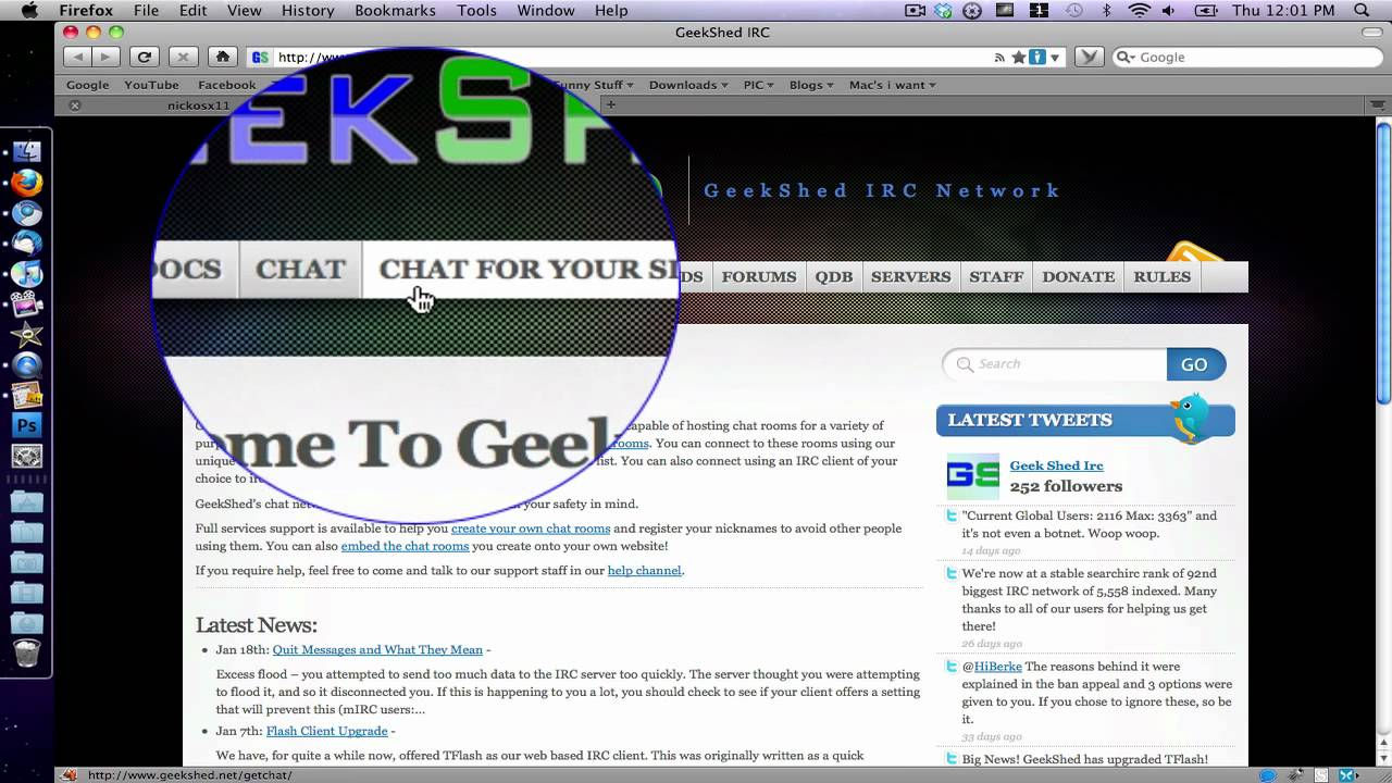 How to make a free chat room for your website doovi for The make room website