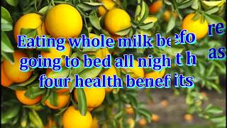 The four benefits of oranges - [ -daily health]