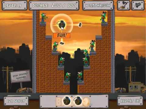 zomblast walkthrough levels 118 youtube
