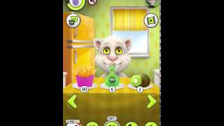 Говорящий Кот Том 2 для Андроид взлом (бесконечные деньги)