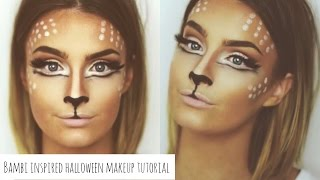 Bambi Inspired Halloween Makeup Tutorial | Aoife Conway Makeup