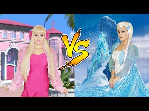 BARBIE VS FROZEN 2