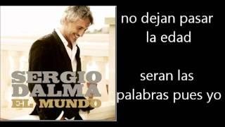 Sergio Dalma - La Cosa Mas Bella Letra Lyrics