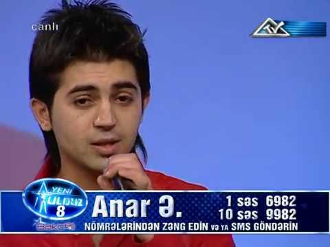Anar Esgerov Ureyim Yanar (Yeni Ulduz 8--2008 )