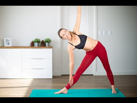 Power Yoga Total Body Workout - Super Pretty Multi Camera Shooting