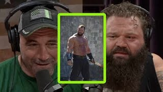 Download Is GOT's 'The Mountain' a Legit Strongman? | Joe Rogan and Robert Oberst Mp3 and Videos