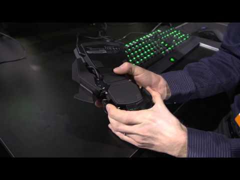 Razer Orbweaver Cherry MX Blue Mechanical Gaming Keypad - Linus Tech Tips CES 2013