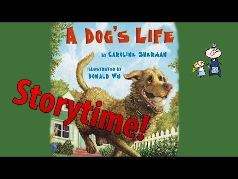Storytime! ~ A DOG'S LIFE ~ StoryTime ~ Bedtime Story Read