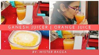 Ganesh Fruits and Vegetable | Hand Juicer || How to make Homemade Fresh Orange Juice || Mister Bagga