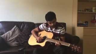 Olanjali kuruvi (1983- malayalam movie) guitar solo