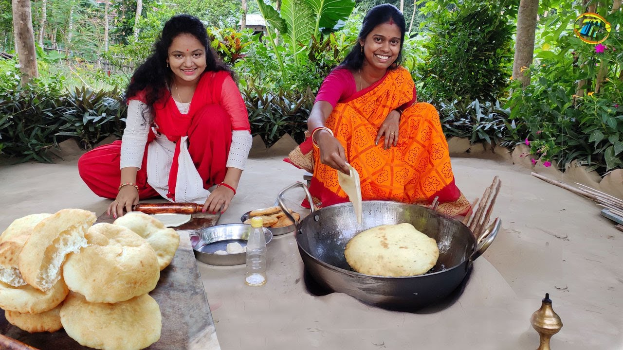 ইস্ট ছাড়া এমন নরম তুলতুলে স্পঞ্জি নান পুরি যদি থাকে ব্রেকফাস্টে তাহলে তো কোন কথাই নেই || Naan puri