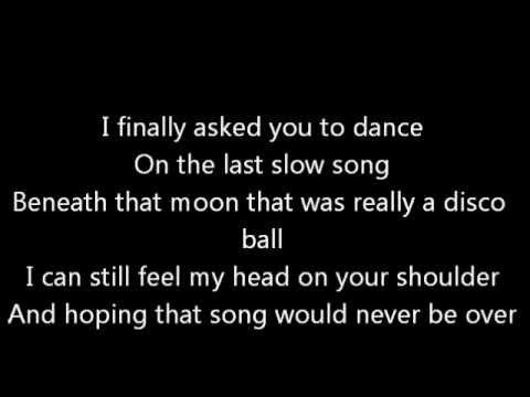 Lady Antebellum Dancing Away With My Heart Lyrics