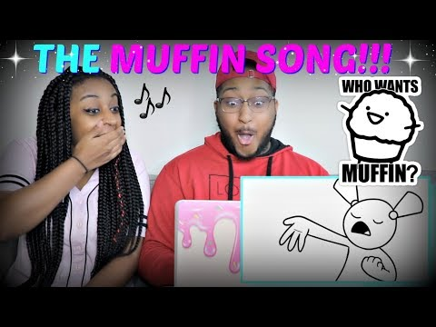 """THE MUFFIN SONG (asdfmovie feat. Schmoyoho)"" by TomSka REACTION!!"