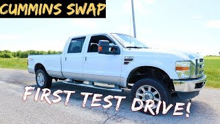 We Took our Cummins Powered F350 First Test Drive