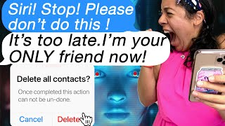 Texting Siri Gone HORRIBLY WRONG!! *Don't Accept New UPDATE!* (Scary Text Message Story)