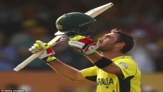 Maxwell 145* world record 2016 | Australia score record 263 | 100 off 49 balls (11 x 4, 5 x 6)