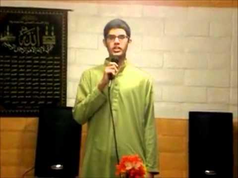 Junaid jamshed nasheed cover by Tulaib (Wa Ahsana min kalam)