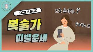 [오늘의운세 사주 복술가]  - 2021년 2월 5일 …