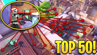 Valorant: TOP 50 VIRAL 1 VS 5 PLAYS..! - Insane Tricks & OP Outplays - Valorant Highlights Montage