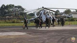 В ДР Конго українські миротворці забезпечили висадку зведеної пошуково-рятувальної групи