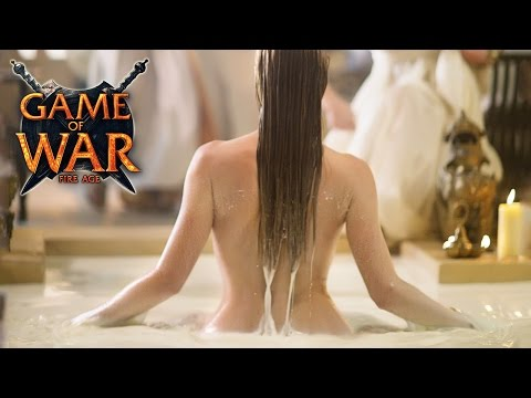Game Of War:  Super Bowl Ft. Kate Upton (EXTENDED EDITION)