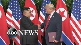 Trump calls Kim Jong Un 'a worthy negotiator'