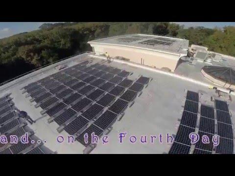 Solar Installation of Jewish Community Center, Staten Island, NY,
