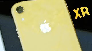 Yellow iPhone XR Unboxing & First Impressions!