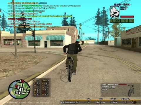 GTA San Andreas Multiplayer (#2) Prezentacja serwera --Polski-- Project-- X/Jakubiak & JanekX