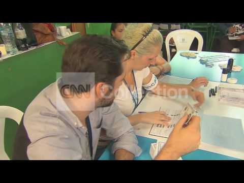 GUATEMALA ELECTION: PEOPLE VOTING IN PRESIDENTIAL ELECTION