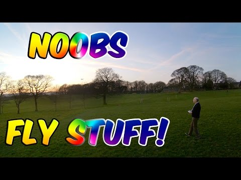 Making Noobs Fly Stuff #1 - CG035 with Dad