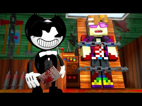 BENDY AND THE INK MACHINE MURDER! | Minecraft Murder Mystery