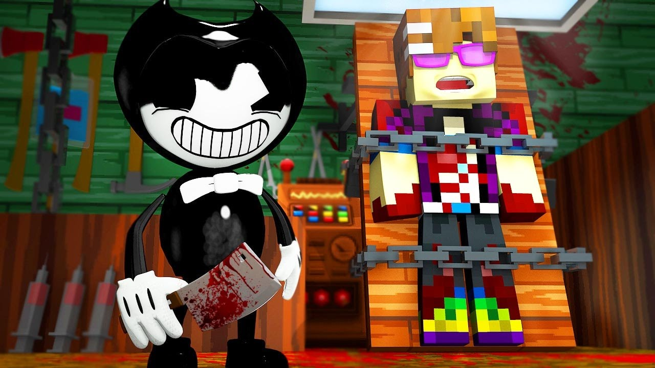 bendy and the ink machine minecraft