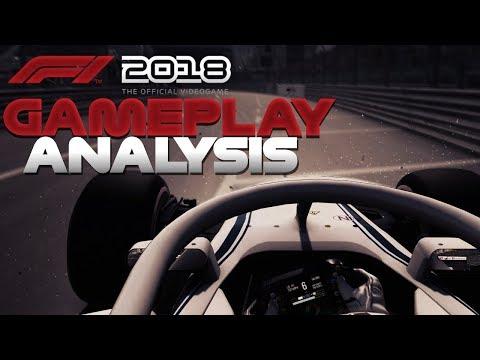 F1 2018  MONACO GAMEPLAY ANALYSIS