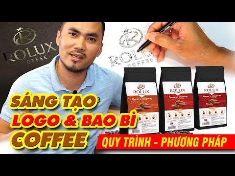 Cách thiết kế logo và bao bì CÀ PHÊ | How to find logo design ideas of coffee | BIG TV