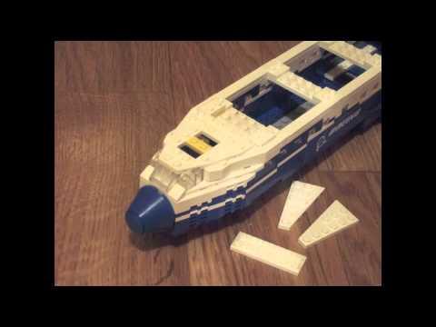 Lego Boeing 787 Dreamliner - Stop Motion