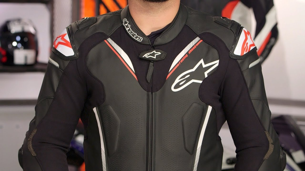 Alpinestars Leather Jacket >> Alpinestars Atem v3 Race Suit Review at RevZilla.com - YouTube