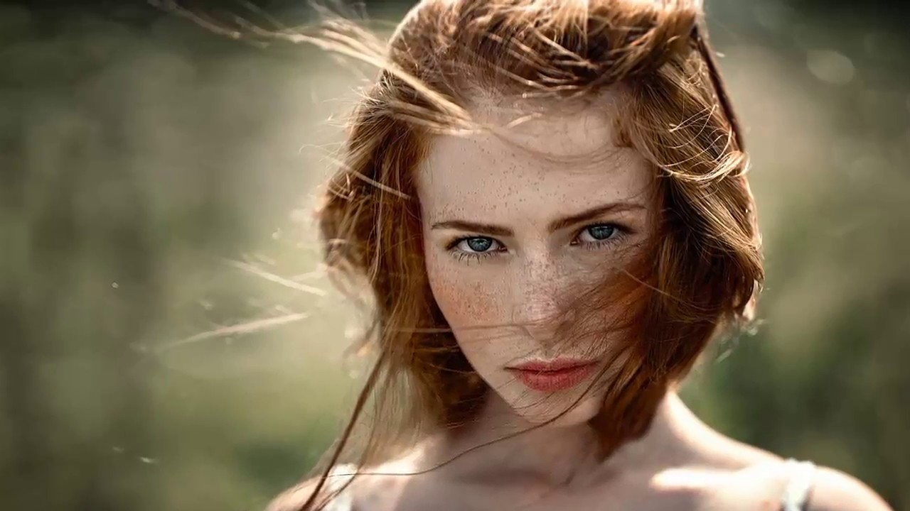 European Women  Beautiful Redheads - Youtube-3876