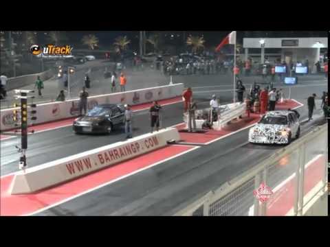 2014 Honda's Bahrain drag (Utrack TV )