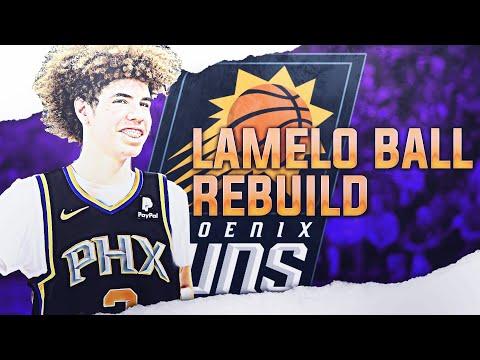 LAMELO BALL SUNS REBUILD! NBA 2K19 thumbnail