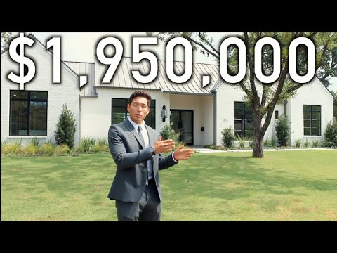 WHAT A $1,950,000 LUXURY HOME LOOKS LIKE IN DALLAS, TX: MILLION DOLLAR LISTING EP. 1