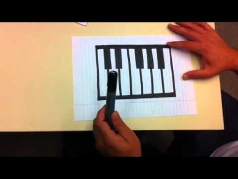 Drawing The Piano Youtube