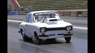 LOW 8 SEC V8 ESCORT VERY CONSISTENT TOP SPORTSMAN RACE CAR