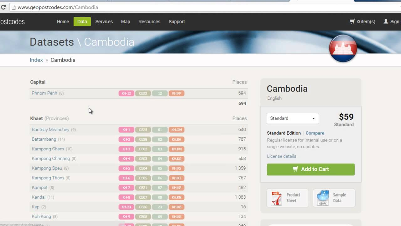 Postal Code Of Cambodia YouTube - Us postal codes zip codes