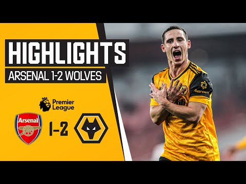 Neto and Podence on target at the Emirates | Arsenal 1-2 Wolves | Highlights