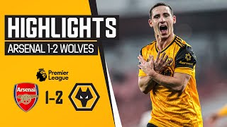Neto and Podence on target at the Emirates Stadium | Arsenal 1-2 Wolves | Highlights